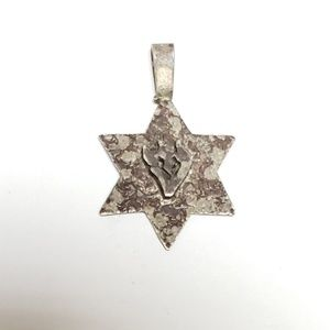 Star of David Sterling Silver Jewish Star